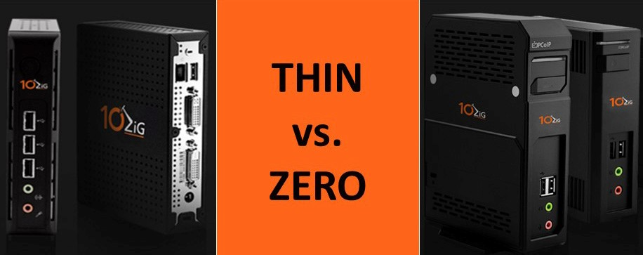 Differences Between Thin And Zero Clients | 10ZiG