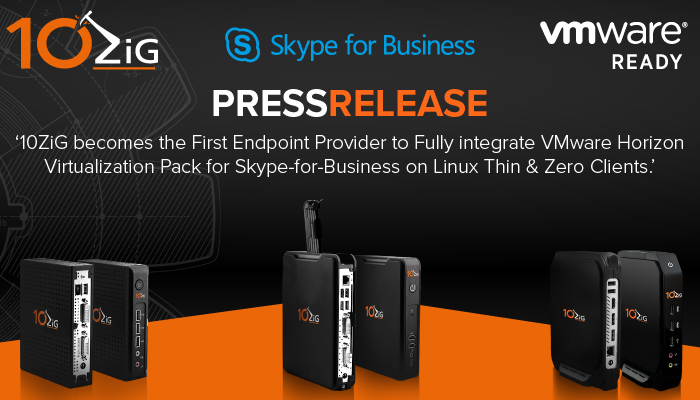 Skype for Business for Linux on 10ZiG Thin and Zero Clients